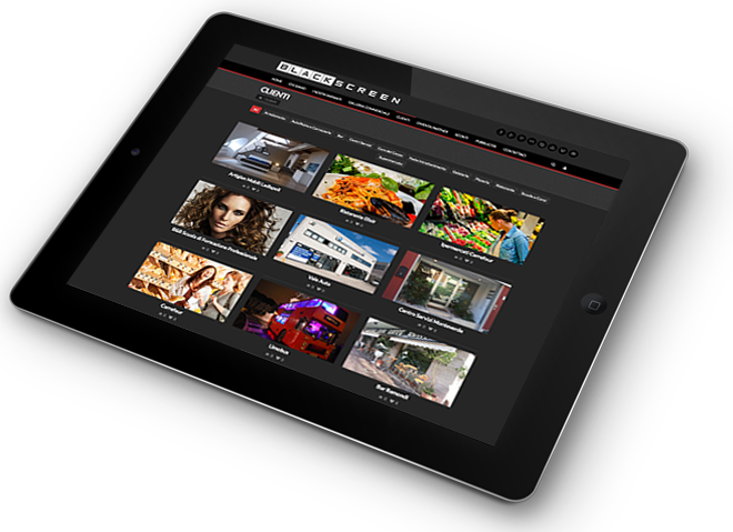 tablet blackscreen home
